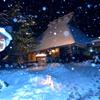 かやぶきの里雪灯廊3