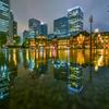雨の東京駅4