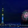 思い出の花火大会: 二年前の隅田川花火大会