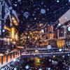 銀山温泉雪景色