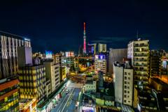 浅草文化センター夜景
