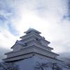 冬の鶴ヶ城2