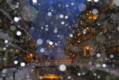 冬の銀山温泉4
