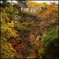 岩壁の彩 三