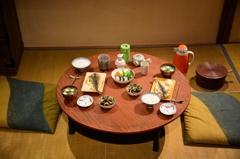 質素な食卓