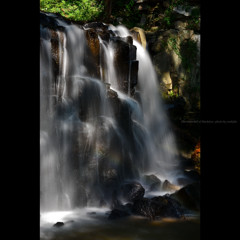 The waterfall of light