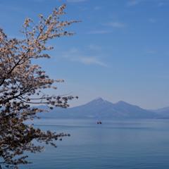 晩春天鏡湖