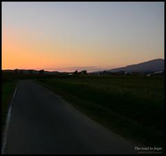 Evening glow of Inawashiro 3   ~ 希望への道 ~