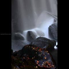小野川不動滝 一 ~秋の境~