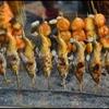 そそる香り  ~ 鮎の塩焼きと串だんご ~
