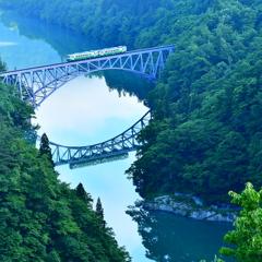 只見川橋梁  ~ 人と自然をつなぐ ~