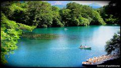 五色沼の夏