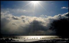 Few sunlight to a silver world II