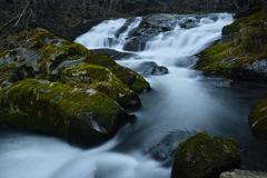 渡瀬の渓 ~ 滑滝 ~
