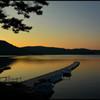 静寂  ~桧原湖の静かな夕暮れ~