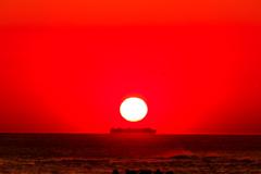 夜明けの航海