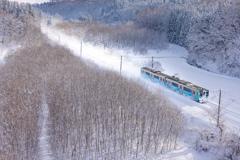 雪晴れ IV