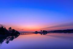 浅所海岸 -日の出直前-