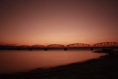 Evening of yoshinogawa