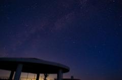 初めて星空撮影