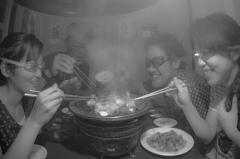 煙たすぎる焼肉屋