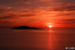 大神島日の出