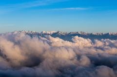 雲の上を歩けたら・・・