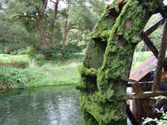 安曇野の水車
