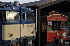 EF63とトロッコ列車