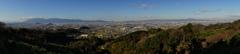 桜井・穴師 大和盆地の眺望