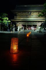 十夜会の山門