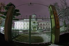 雪夜のお散歩:旧開智学校