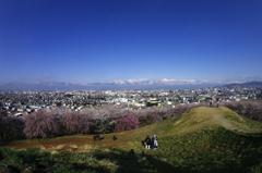 弘法山より