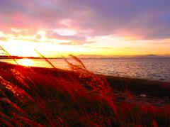 晩秋のサロマ湖