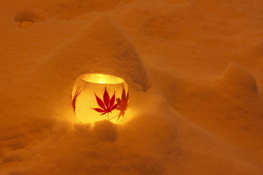 小樽雪明かり ワックスボール