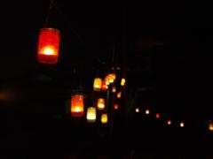浮かぶ灯り