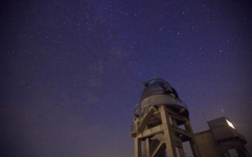 美星天文台にて