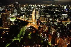 human night view
