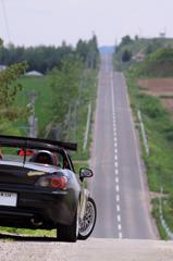 まっすぐの路