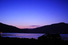 敦賀の夕方