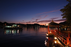 夕刻の浮見海道