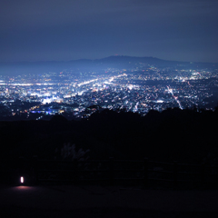 Night view - wakakusayama