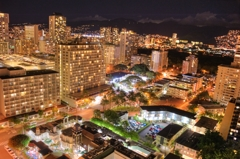 『Waikiki Night view』