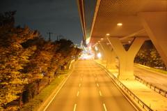 首都高速S5 新都心方面