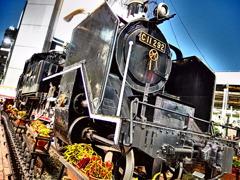 『国鉄C11形蒸気機関車』