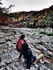 『嵐山 桂川』