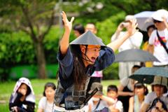 『名古屋おもてなし武将隊 陣笠隊 踊舞』