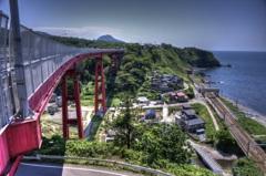 『米山大橋』