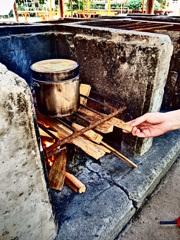 『飯盒炊爨』