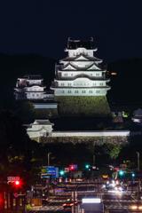 夜の白鷺城 ②